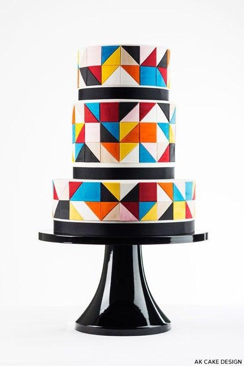 Cake by Allison Kelleher of AK Cake Design