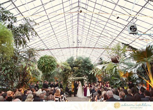 Wedding Venue: The Horticulture Center