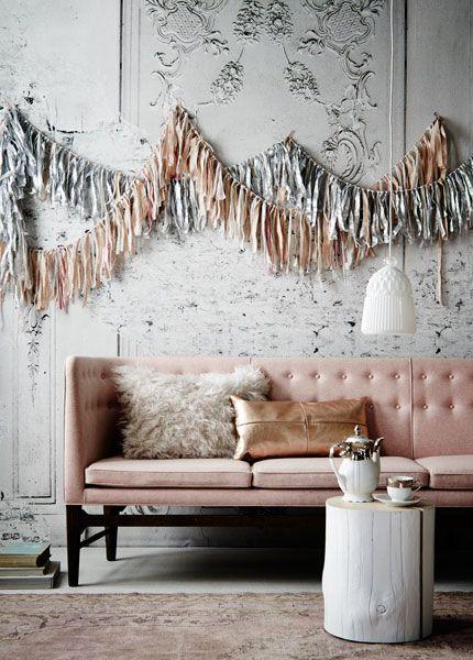 Wedding Colors Metallic Pink Inspiration