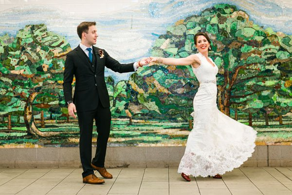 new york city real wedding