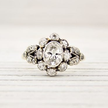 best vintage engagement rings