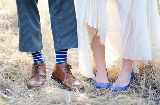 13 blue wedding shoes we love woman getting married junglespirit Image collections