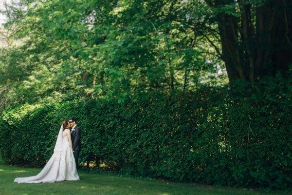 backyard real wedding