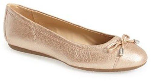 Geox 'Lola 91' Cap Toe Ballet Flat (Women) • $139.95