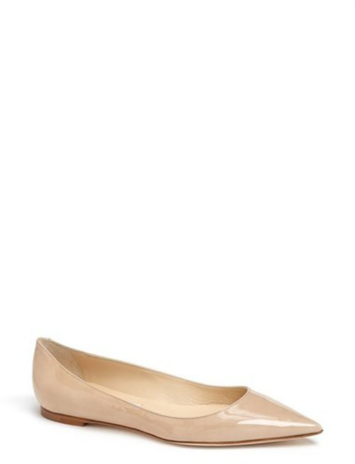 Jimmy Choo 'Alina' Pointy Toe Flat • $550.00