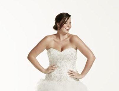 David's Bridal, Style #9V3665