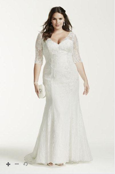 David's Bridal Style #9WG36843