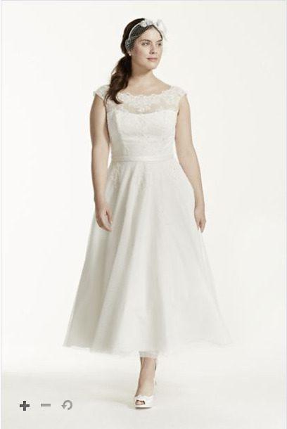 David's Bridal Style #9WG3721