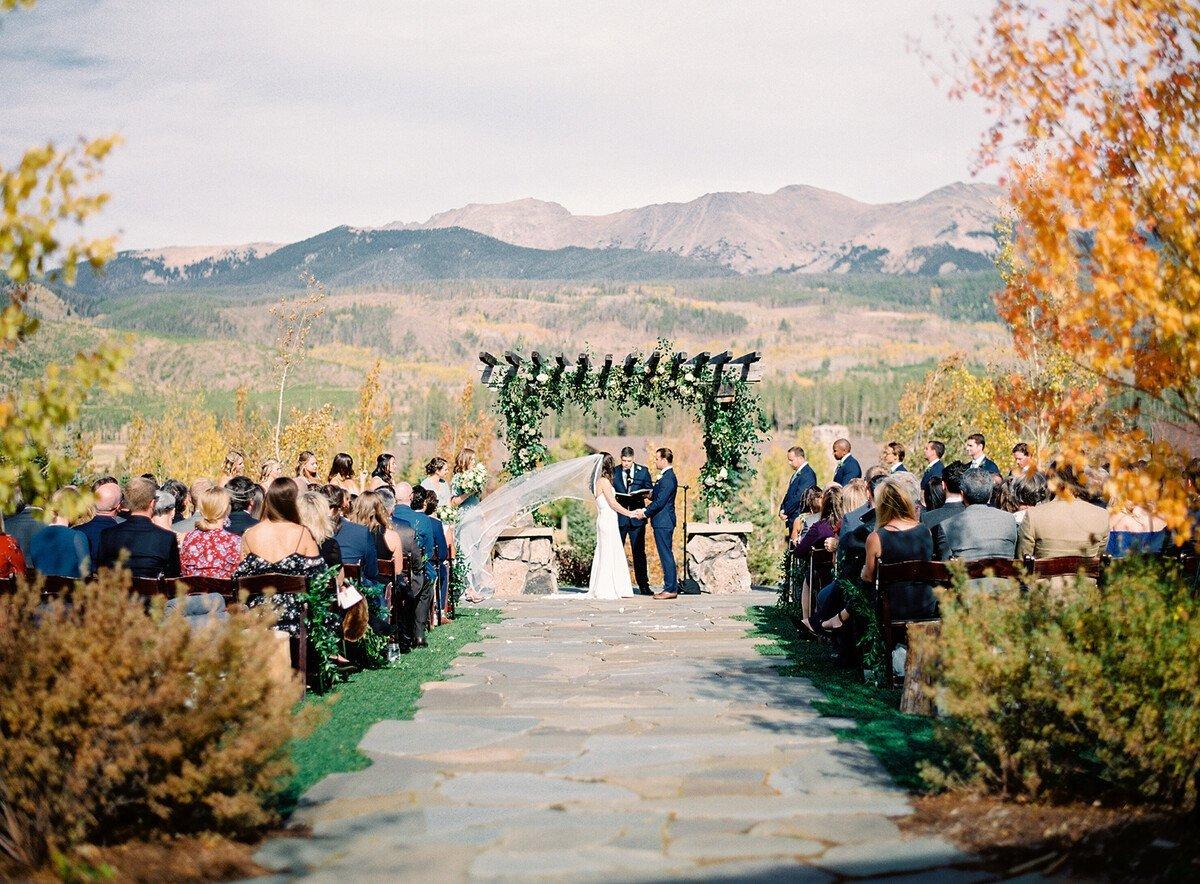 Devil's Thumb Ranch wedding venue in Colorado