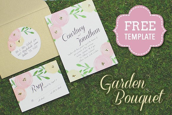 Wedding Invitation Suite Templates: DIY Wedding Invitations: Our Favorite Free Templates
