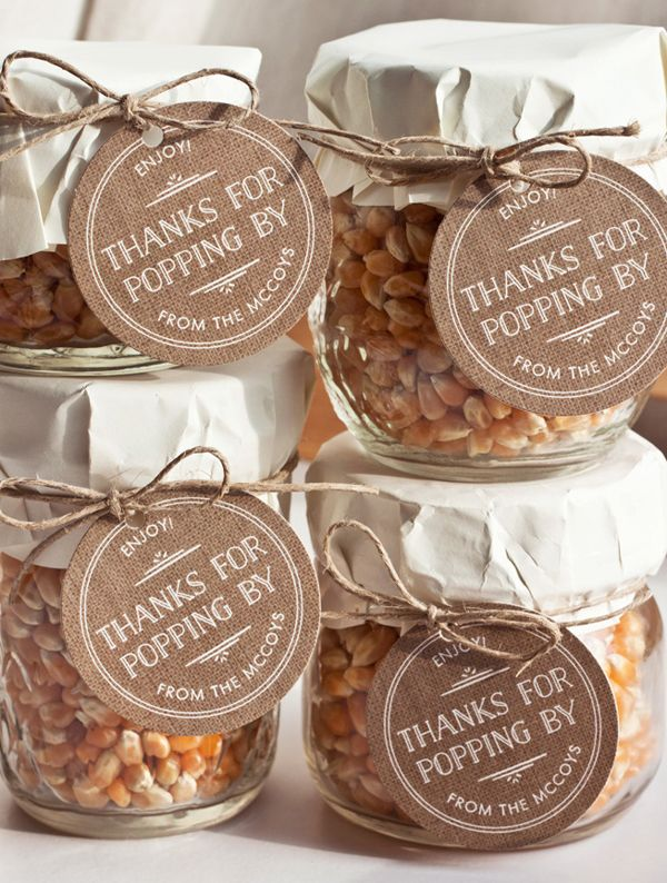 10 Budget Friendly Wedding Favors