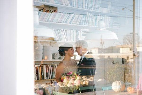 speakeasy real wedding