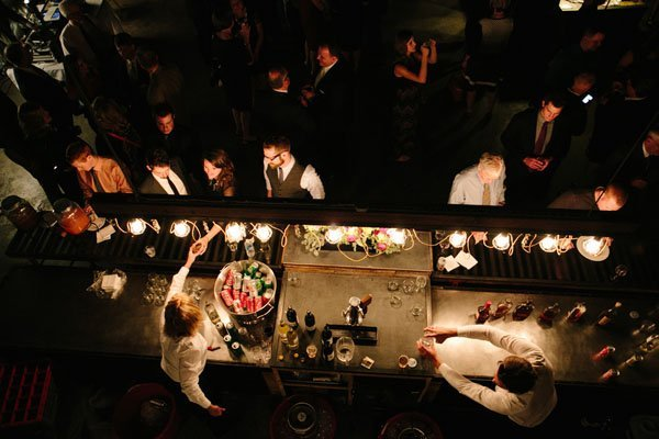 speakeasy real wedding