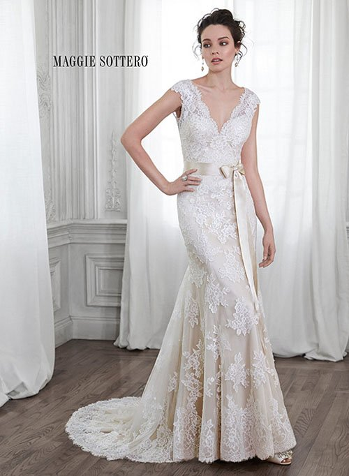 maggie sottero wedding dress cost