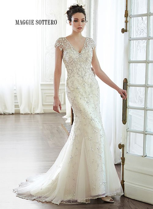 Wedding Dress Designer: Maggie Sottero | Woman Getting Married