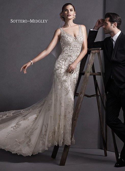 Wedding Dress Designer: Maggie Sottero | Woman Getting Married