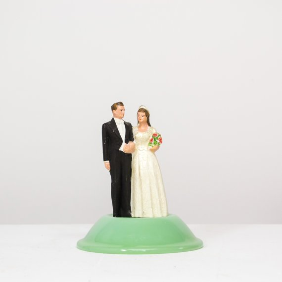 1940s Wedding Cake Topper from Kolorize, $45