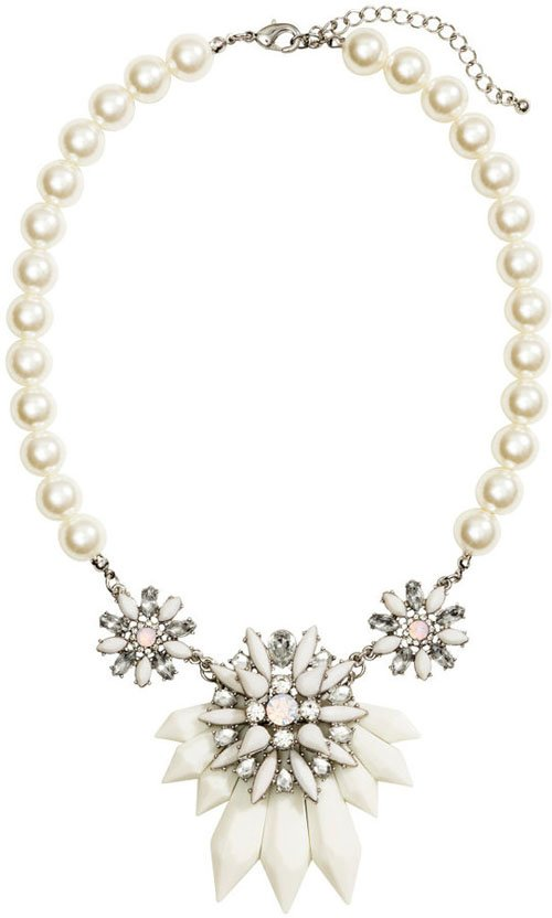 26 statement wedding necklaces we want to wear wedding necklace junglespirit Gallery