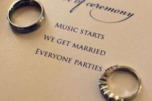 How to Create Awesome Wedding Programs