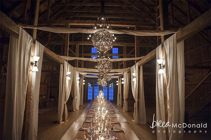 Wedding Venue: The Barn at Flanagan Farm