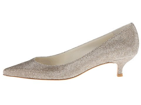 The Perfect Kitten Heel Wedding Shoes