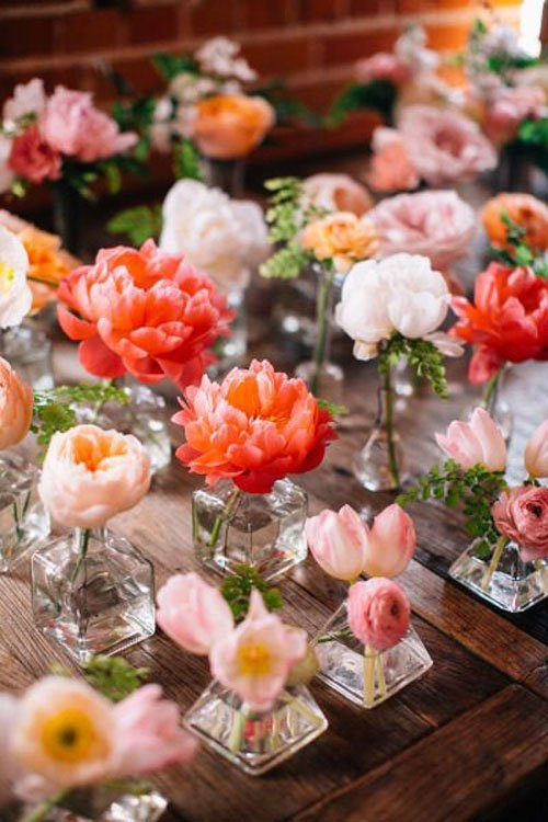 Planning by Enchanted Garden Floral Design | Flowers by The Little Branch | Photo by Jen Rodriguez | via Style Me Pretty