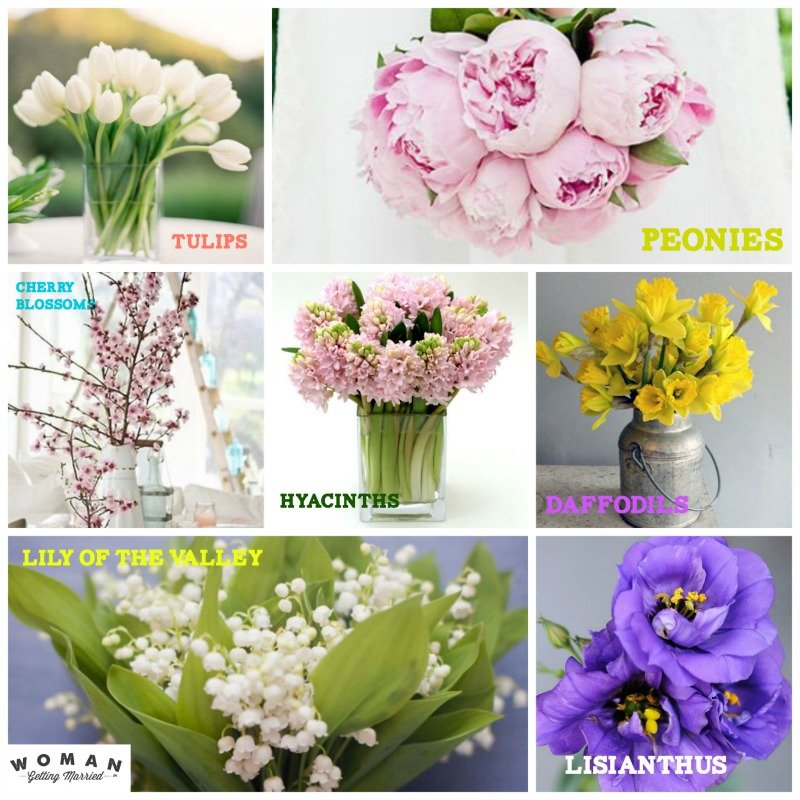 spring flowers wedding the best flowers for weddings 7629