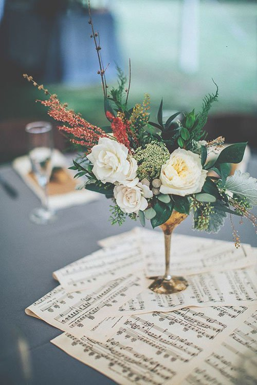 21 vintage wedding ideas photo by papered heart photography via ruffled junglespirit Gallery