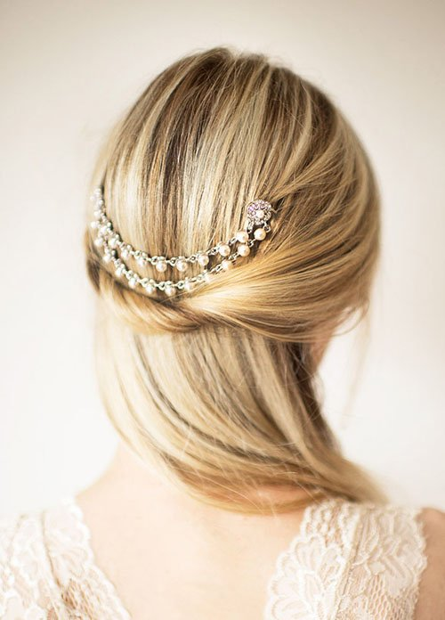 10 Gorgeous Wedding Hairstyles For Long Hair Woman Getting Married