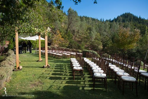 calistoga ranch wedding venue