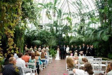franklin park conservatory wedding