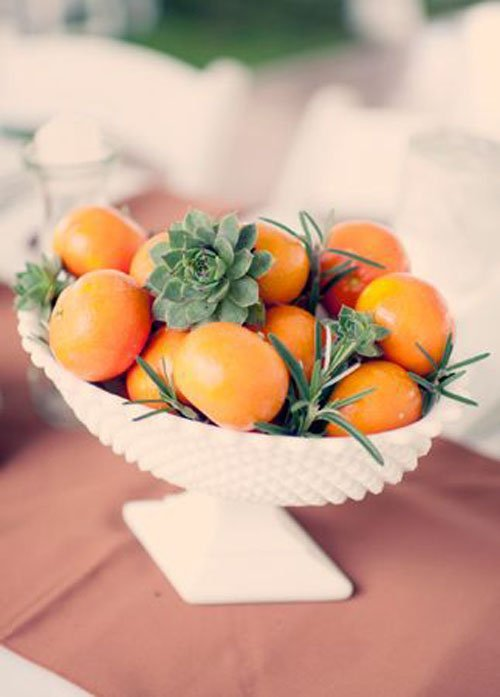 20 Fruit Centerpieces For Every Season Woman Getting Married