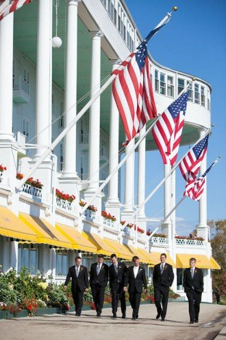 grand hotel mackinac island wedding