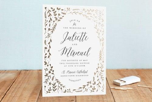 15 minted wedding invitations we love | woman getting married, Wedding invitations