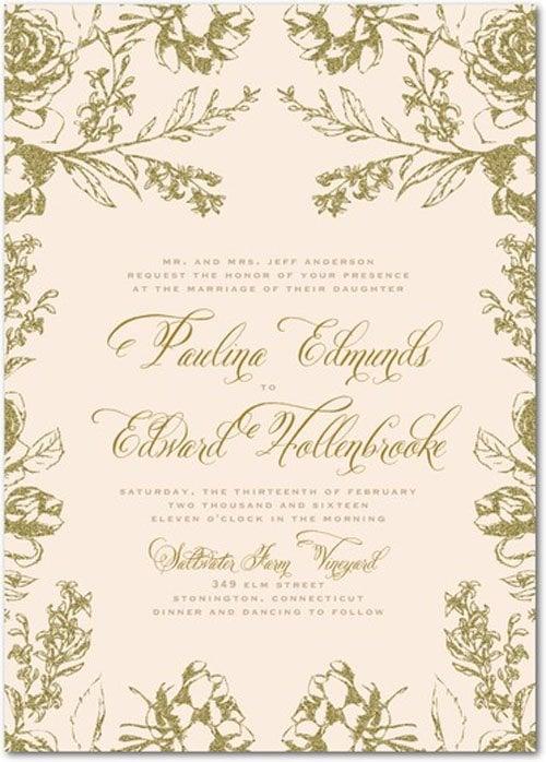wedding paper divas wedding invitations we love, Wedding invitations