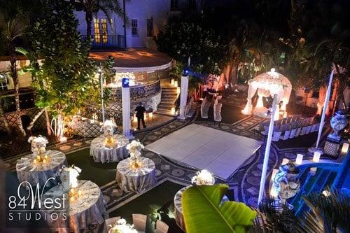 versace mansion wedding villa 4 - tampa beach weddings