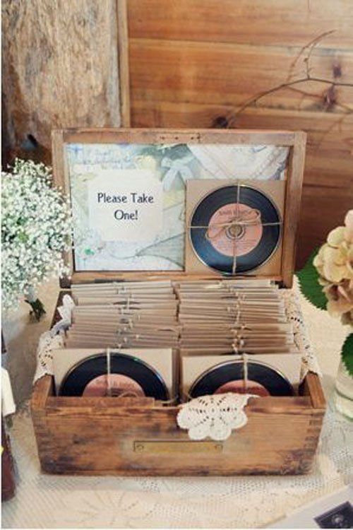 Unique wedding favors guests will actually appreciate mix cd junglespirit Gallery