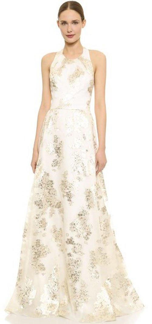 Lela Rose Jacquard Halter Gown • Lela Rose • $3,995