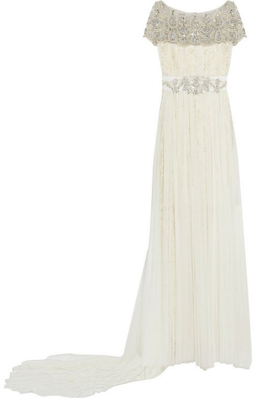 Marchesa Embellished tulle and lace gown • Marchesa • $6,500