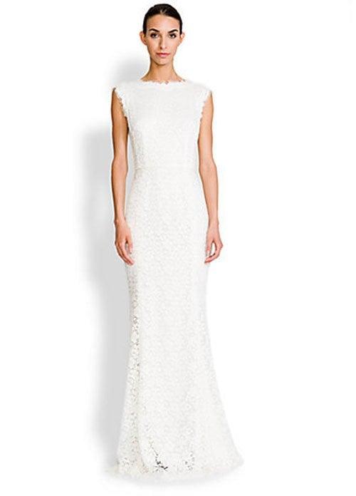 Dolce & Gabbana Lace V-Back Gown • Dolce & Gabbana • $5,475