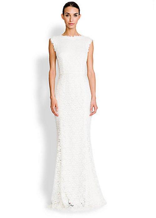 Beach wedding dresses to inspire you for Dolce gabbana wedding dress