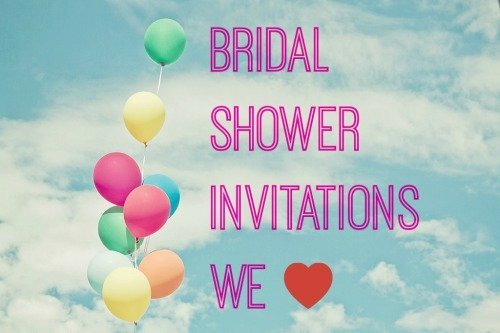 where to buy bridal shower invitations