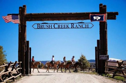 Saratoga, WY: Brush Creek Ranch