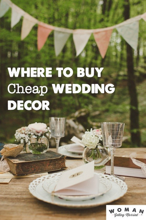 Cheap wedding decorations that are still awesome for Cheap and easy wedding decorations