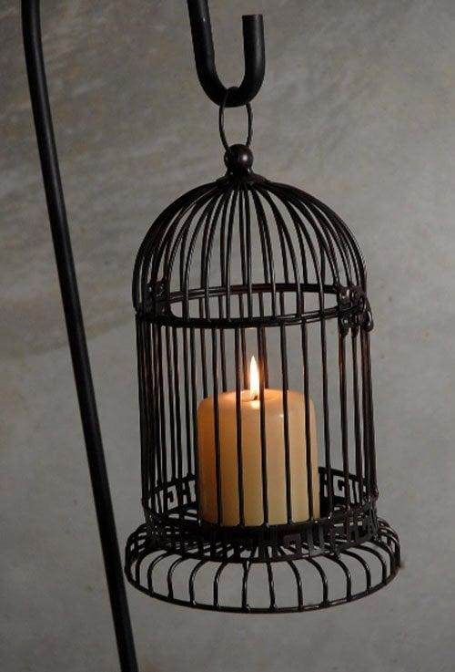 Bird Cage Candleholder, $12.99