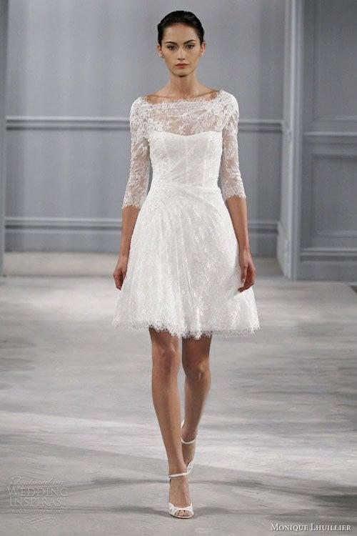 Wedding Dress Styles For Short Brides : Short wedding dresses we want now
