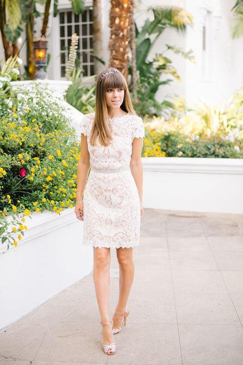 21 short wedding dresses we want now short wedding dresses 13 junglespirit Gallery