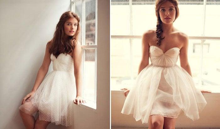 21 Short Wedding Dresses We Want NOW