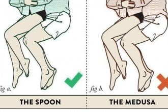 funny sleeping positions couples