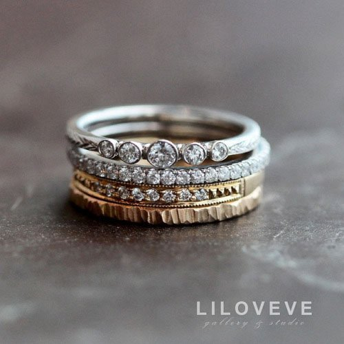 Inexpensive Stacking Rings